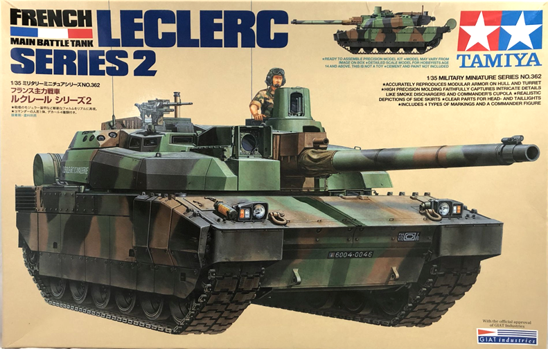 TA35362 French Main Battle Tank - Leclerc Series 2 1/35
