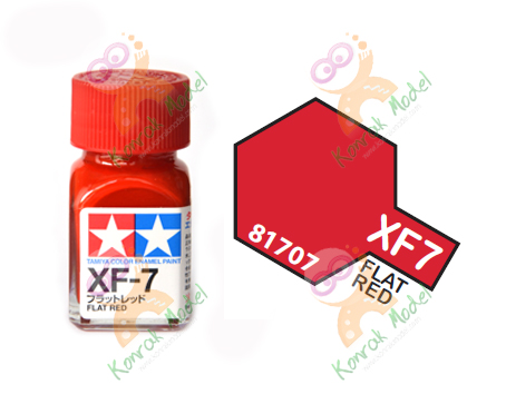 Enamel XF7 Flat Red 10ml