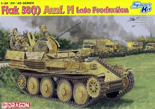 DRA6590 FLAK 38(t) AUSF.M LATE PRODUCTION (1/35)
