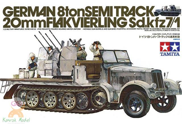 TA35050 German 8T Half Track Sdkfz 7/1