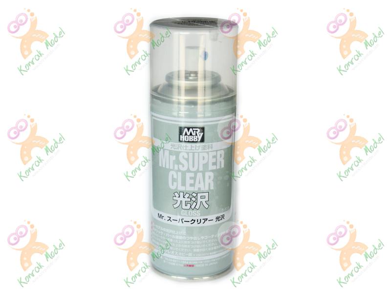 B513 Mr. Super Clear GLOSS 170ml Sealant Spray