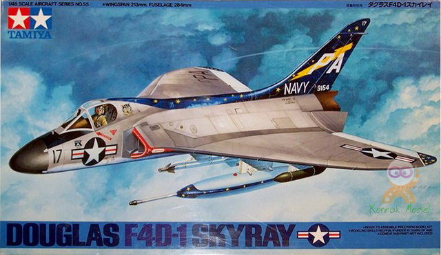 TA61055 1/48 Douglas F4D-1 Skyray