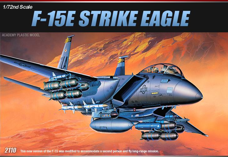 AC12478 F-15E STRIKE EAGLE (1/72)