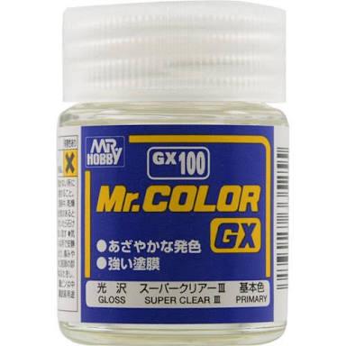 GX100 Super clear 18ml