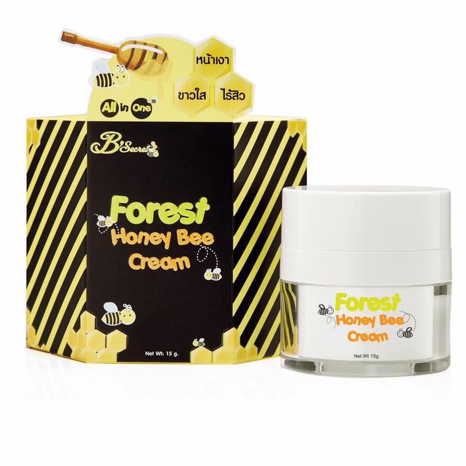 Forest Honey Bee Cream By B'secret 15 g. ครีมน้ำผึ้งป่า ศาสตร์แห่งการฟื้นฟูบำรุงผิวที่ดีที่สุด