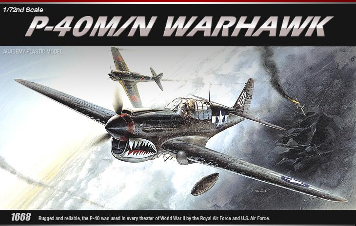 AC12465 P-40M/N WARHAWK(1/72)