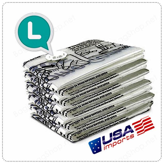 """เซ็ทถุงสูญญากาศ (L) """"Home Complete"""" Import from USA"""