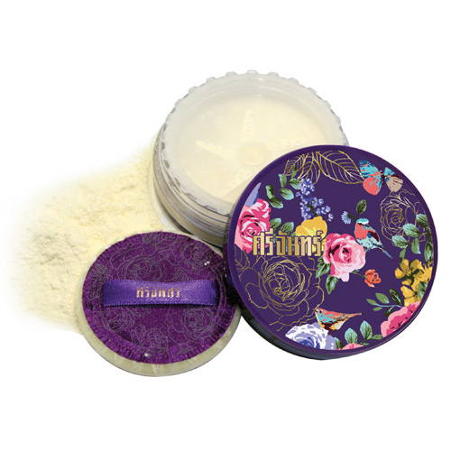 Srichand Translucent Powder 10 g. ศรีจันทร์ ทรานส์ลูเซนท์ พาวเดอร์ แป้งฝุ่นศรีจันทร์