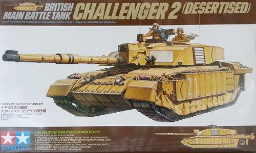 TA35274 CHALLENGER 2 (DESERTISED) 1/35