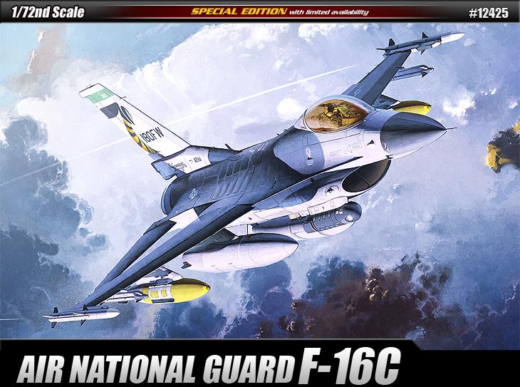 AC12425 F-16C AIR NATIONAL GUARD 1/72