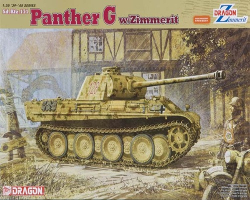 DRA6384 PANTHER G w/ZIMMERIT (1/35)