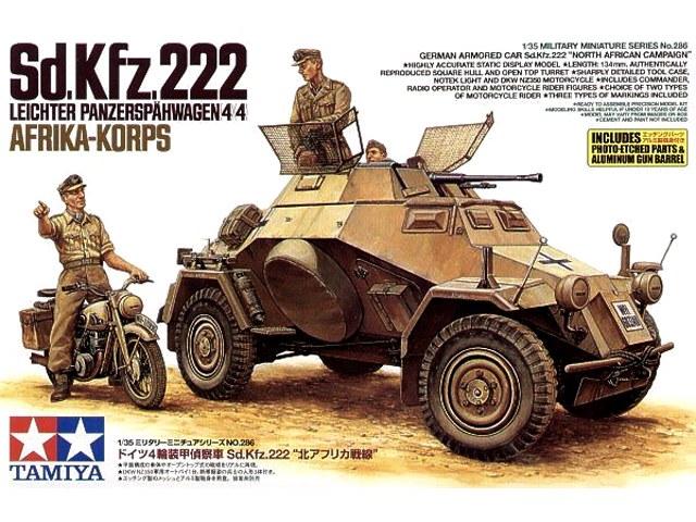 TA35286 Sd.Kfz.222 North Africa