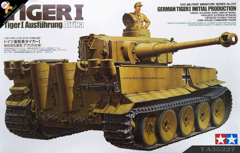 TA35227 German Tiger I Initial Prod.1/35