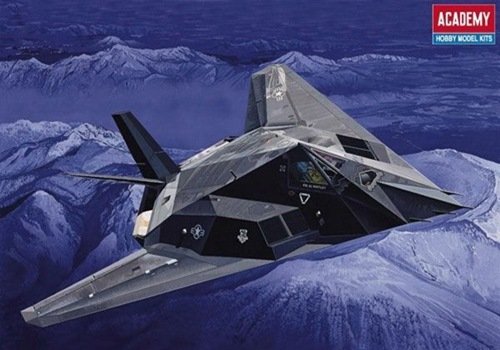 AC12265 F-117A STEALTH FIGHTER (1/48)