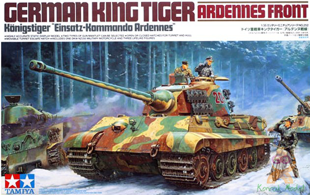 TA35252 King Tiger Ardennes Front