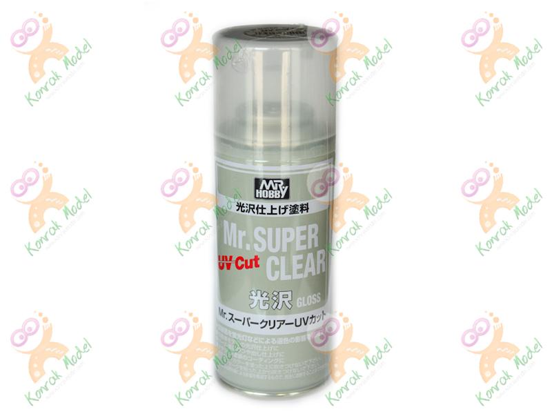 B522 Mr. Super Clear UV CUT GLOSS 170ml Sealant Spray