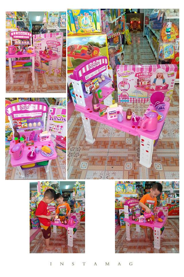 ชุดครัว Living Small Chef Play Set 2 in 1