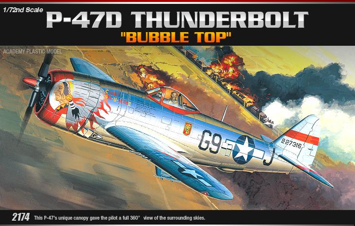 AC12491 P-47D THUNDERBOLT