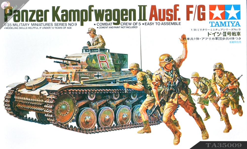 TA35009 German Pzkpfw II Kit - CA109 1/35