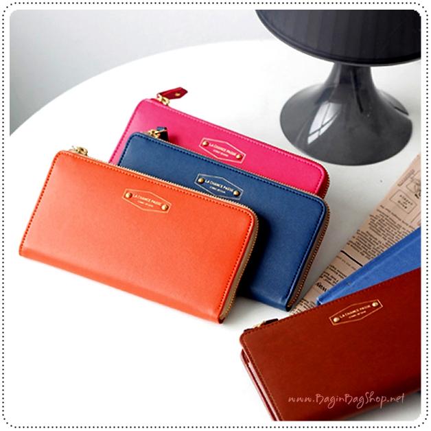 ICONIC Zip Up Wallet