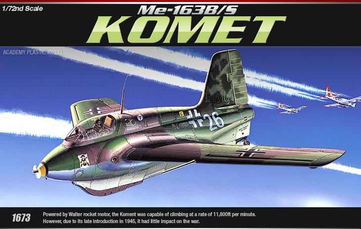 AC12470 Me-163B/S KOMET (1/72)