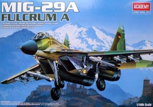 AC12263 MIG-29A FULCRUM A (1/48)