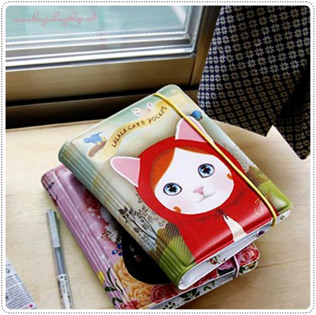 Choo Choo Cat Card holder Caseกระเป๋าเก็บนามบัตร