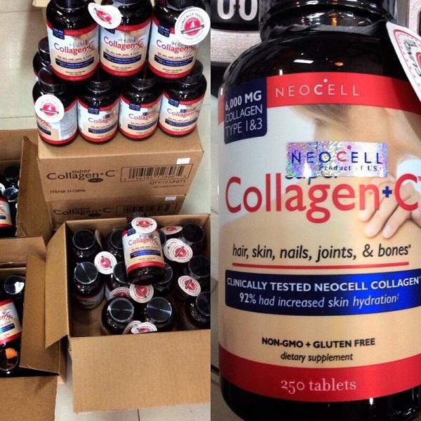 Neocell Super Collagen+C นีโอเซลล์ คอลลาเจน ของแท้ ราคาถูก ปลีก/ส่ง โทร 089-778-7338 เอจ Line ID : @giveit4you (อย่าลืมใส่ @ นำหน้าด้วยนะครับ)