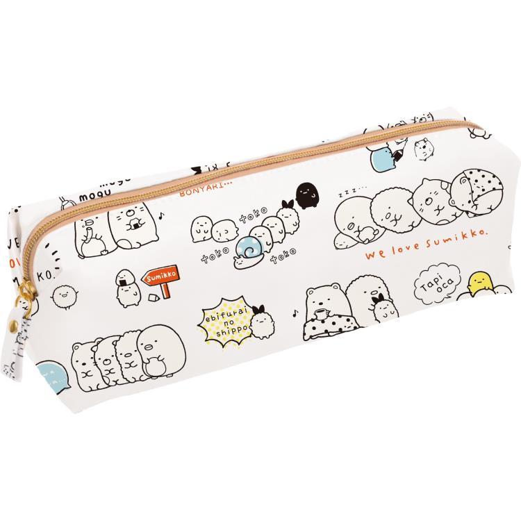 กระเป๋าดินสอ Sumikko Gurashi สีขาว