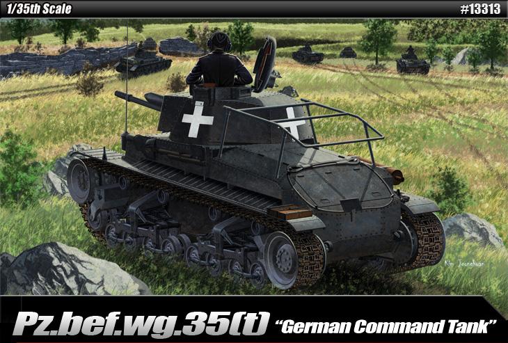 AC13313 Pz.Bef.Wg.35(t) Command Tank 1/35