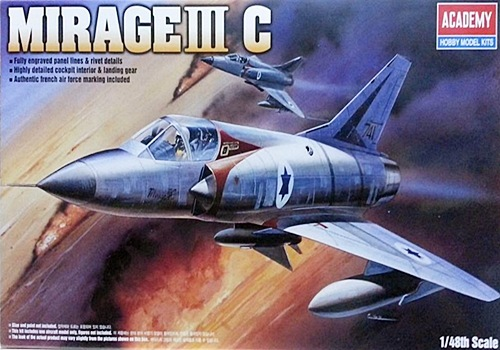 AC12247 MIRAGE IIIC FIGHTER (1/48)