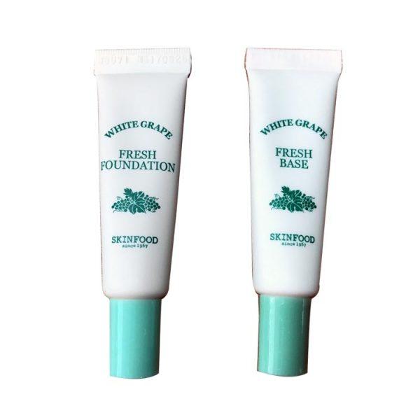 Skinfood White Grape Fresh Makeup Kit เซทองุ่นยอดฮิต