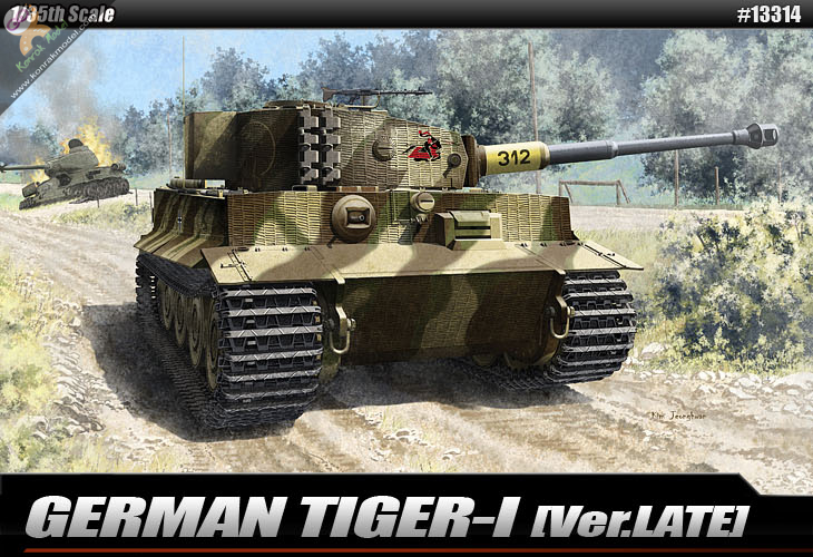 AC13314 GERMAN TIGER-I (Ver.LATE) 1:35