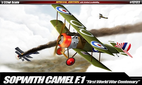 AC12122 SOPWITH CAMAL WW1 100TH ANNIVERSARY 1/32