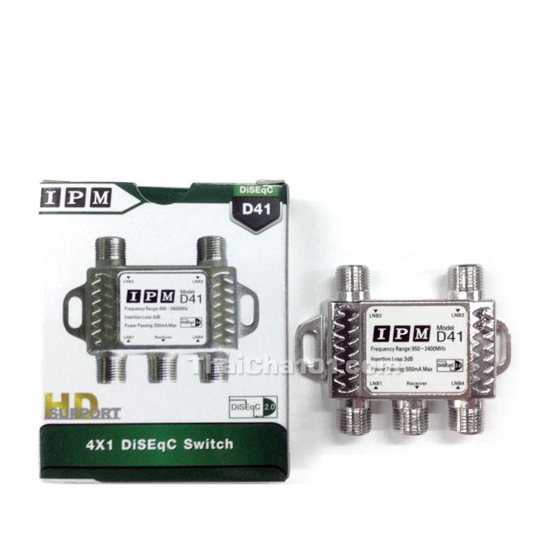 DiSeqC Switch 4x1 IPM