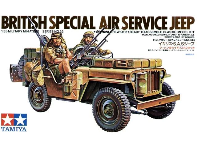 TA35033 British SAS Jeep Kit (1/35)
