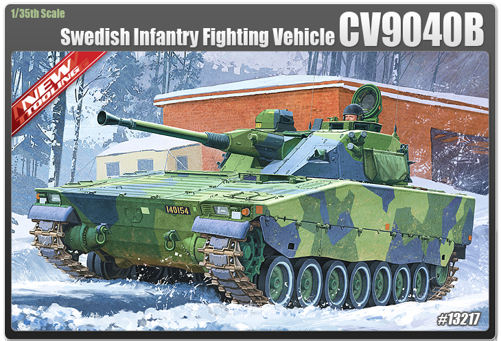 AC13217 CV9040B SWEDISH INFANTRY 1/35