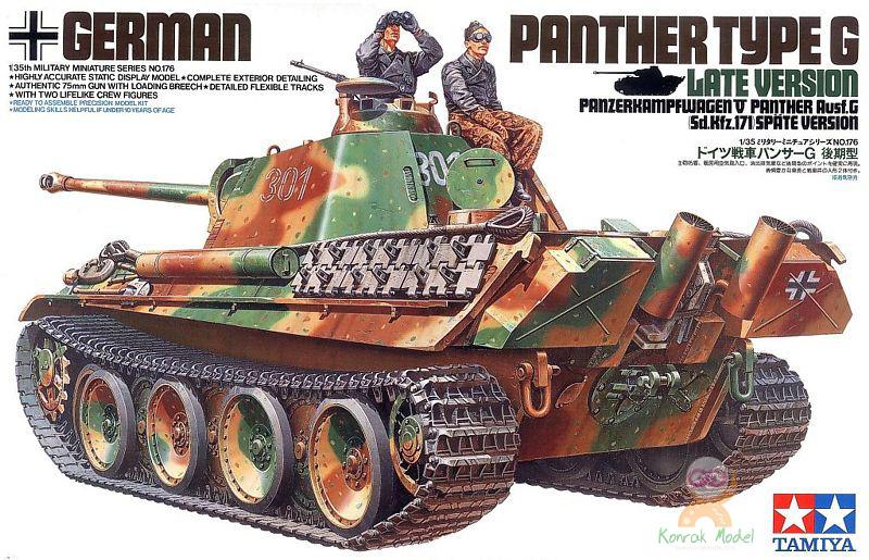 TA35176 1/35 Panther Type G Late Version