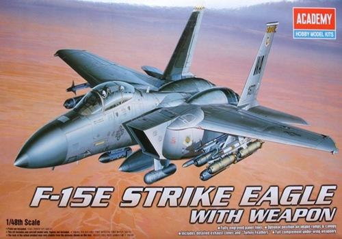 AC12264 F-15 STRIKE EAGLE W/WEAPONS (1/48)