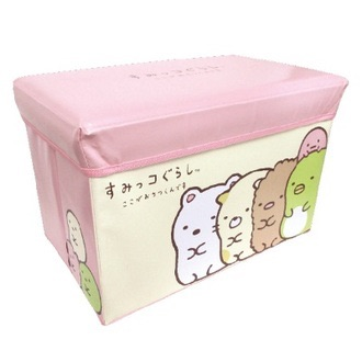 กล่องเก็บของนั่งได้ Sumikko Gurashi