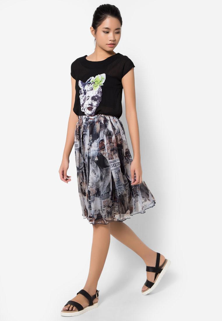 เซ็ทเสื้อและกระโปรง Artistic Marilyn