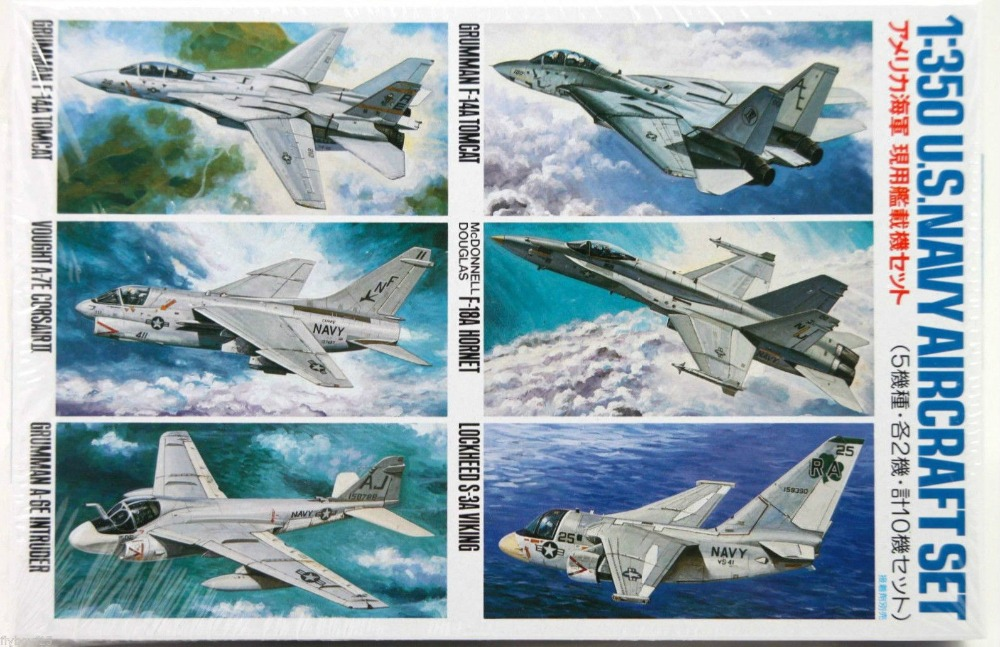 TA78006 1/350 U.S. Navy Aircraft #1 Kit - CL006