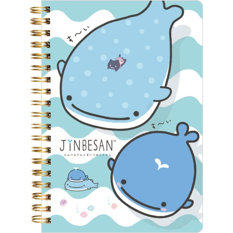 สมุด B6 Jinbesan&Kokujira 1