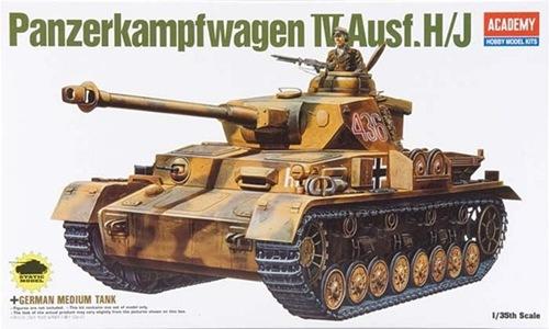 AC13234 GERMAN PANZER IV H (1/35)