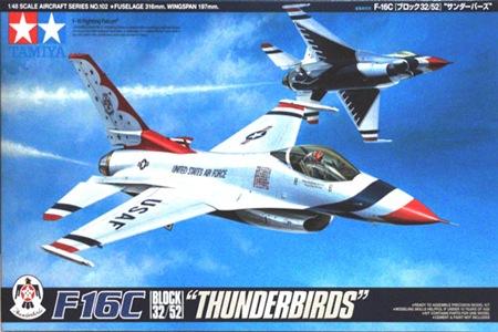 TA61102 F-16C THUNDERBIRDS 1/48