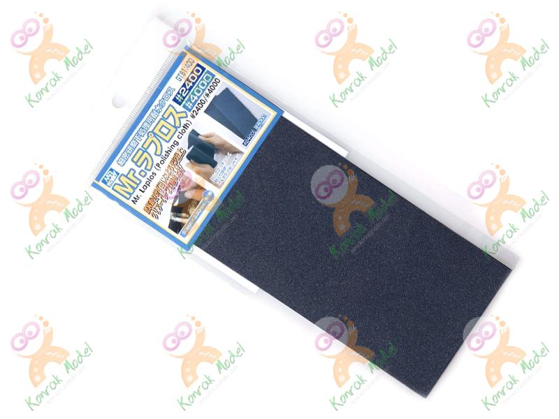 GT61 Mr. Laplos Polishing Cloth (2Pcs: #2000 #4000) ผ้าขัด