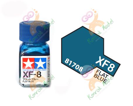 Enamel XF8 Flat Blue 10ml