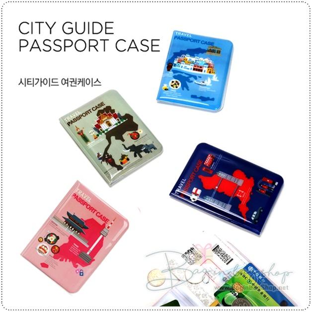 City Guide Passport Case