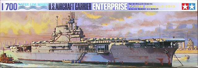 TA77514 US Enterprise Aircraft Carrier 1/700