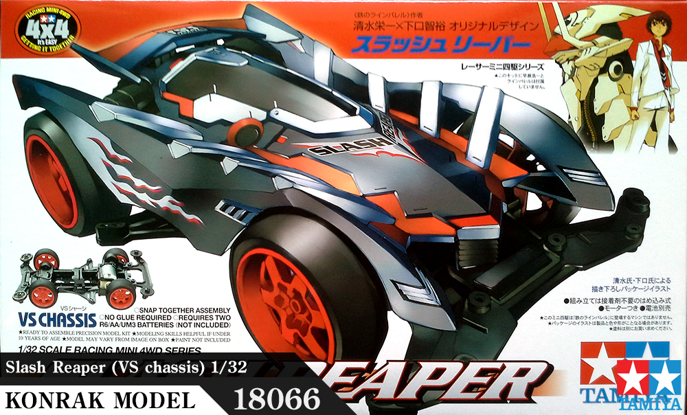 TA18066 Slash Reaper (VS chassis) 1/32
